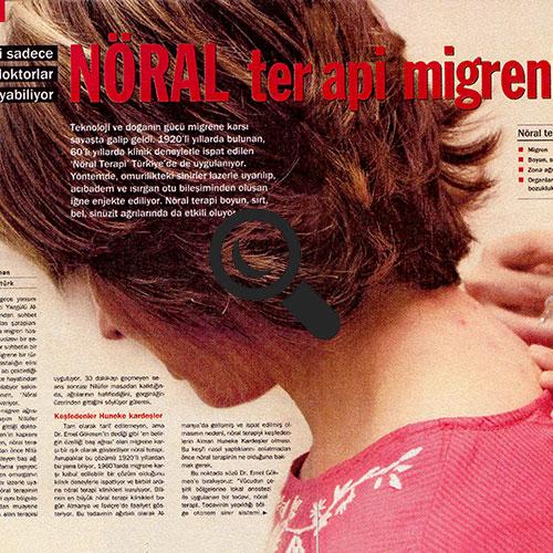 Nöral Terapi Migreni Yendi