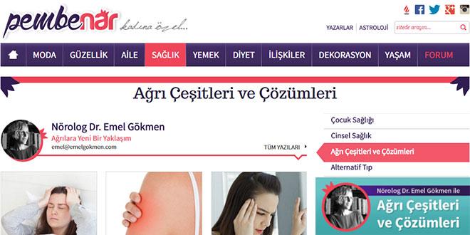 Home image Pember Nar Milliyet Dr. Emel Gokmen