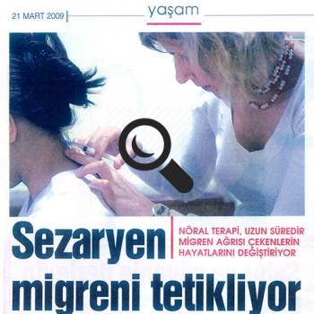 C-section Triggers Migraine