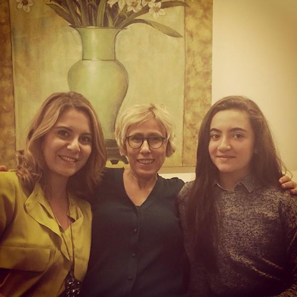 Photo gallery Esra and Ela Gulen Dr. Emel Gokmen