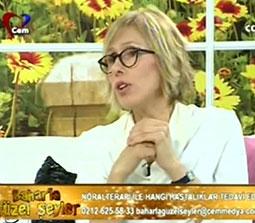 TV interviews, Cem TV, Baharla Guzel Seyler, Noral Terapi Nedir? Migren Tedavisinde Noral Terapi, Dr. Emel Gokmen