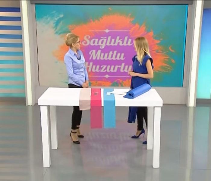 TV interviews, ATV, Saglikli Mutlu Huzurlu, Fibromiyalji Migren ve Noral Terapi, Dr. Emel Gokmen