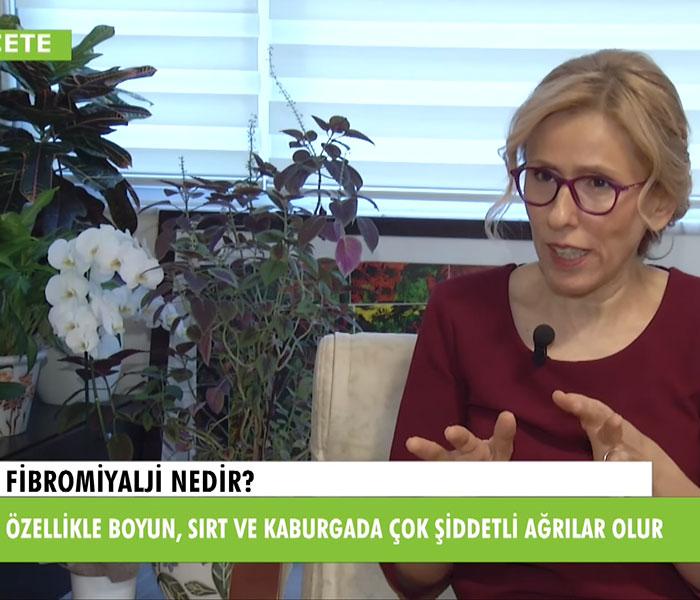 TV interviews, Recete Programi, Fibromiyalji Nedir? Belirtileri Nelerdir?, Dr. Emel Gokmen