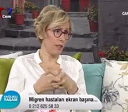 TV interviews, Cem TV, Demet Kaytan, Migrenin Tedavisi Nasil Yapilir? Migrene Cozum Var, Dr. Emel Gokmen