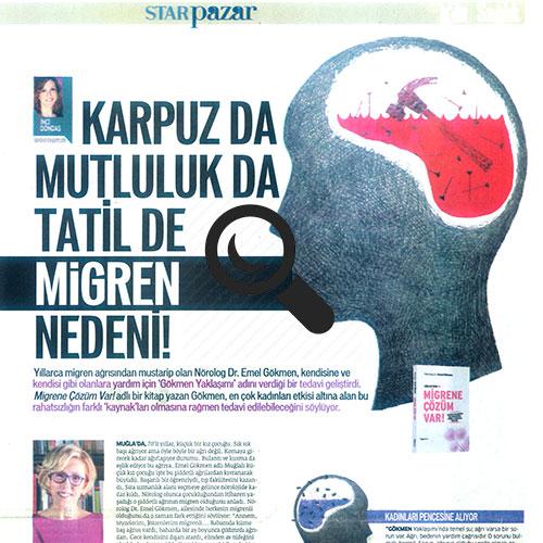 Migren Nedeni