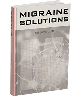 Migraine Solutions Book Image Dr. Emel Gokmen